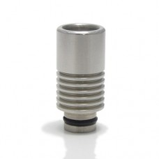 Stainless Steel Grooved Wide Bore Drip Tip
