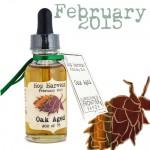February 2015 Hop Harvest - Oak Aged - Limited Edition e-Liquid