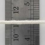 2.5mm Round Braided Cotton Lantern Wick With Cotton Core - 1'